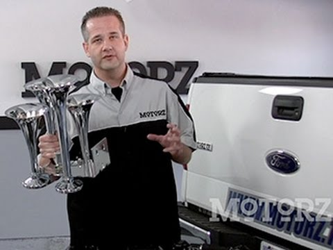How to Install Train Horns Ford F-150 Motorz #23 - YouTube