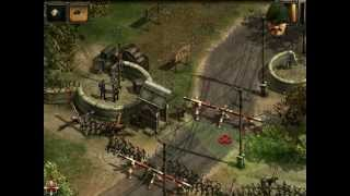 Commandos 2: Men of Courage PS2 - Training Mission 1 - Very Hard