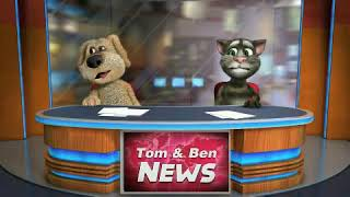 Talking news / tom and Ben/ by Irmina. Luc. UK. Free for kids.