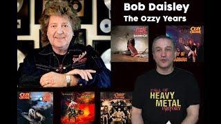 Bob Daisley-Talks Blizzard of Ozz, Diary of a Madman, Bark at the Moon