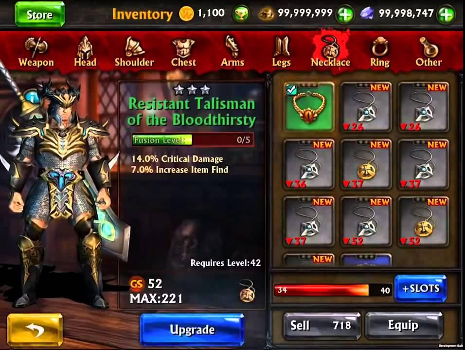 New Mod Eternity Warriors 3 V3 0 1 Apk Data 28 09 2014 Youtube