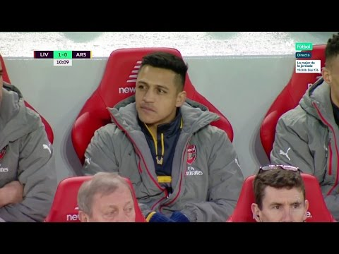Alexis Sanchez vs Liverpool (Away) 16-17 HD 720p (04/03/2017)