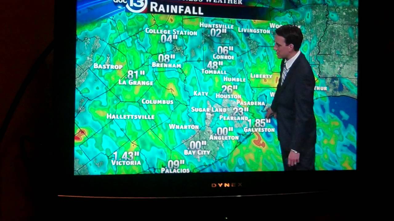 Ktrk Abc 13 Eyewitness News At 4pm Weather Forecast Part 1 Youtube