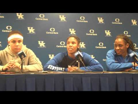 UK Hoops Players Postgame vs Missouri Part 1