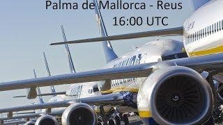 Palma de Mallorca - Reus #ryanairlive