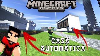 MAPA DA SÉRIE EM BUSCA DA CASA AUTOMÁTICA PARA MCPE 1.1.3 (Minecraft Pocket Edition)