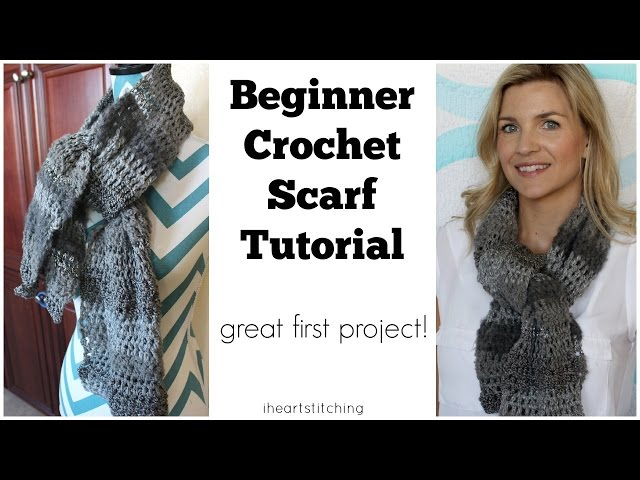 How To Crochet A Scarf For Beginners 11 Steps With Pictures