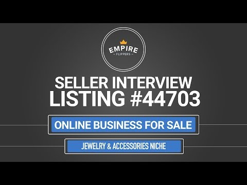 Online Business For Sale – $6K/month in the Jewelry & Accessories Niche
