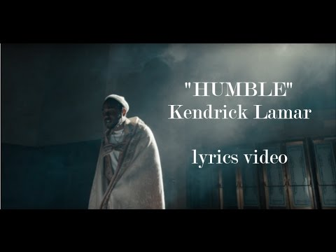 Kendrick Lamar  HUMBLE Lyrics