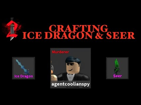 Crafting Seer & Ice Dragon (Roblox Murder Mystery 2)