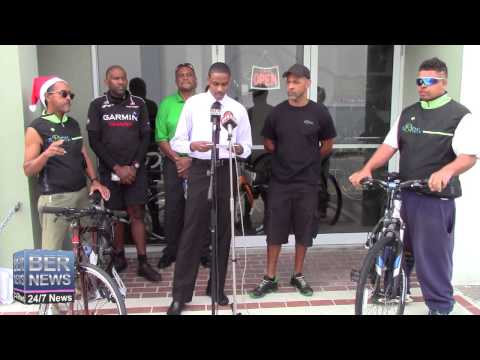 PLP Assist In Donation Of Bikes, December 18 2014