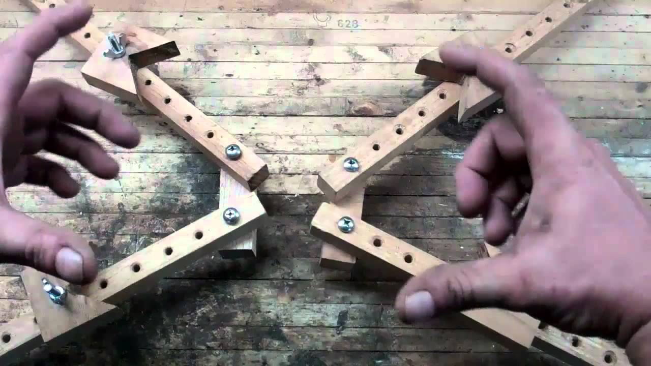 home made tools oak frame clamps youtube