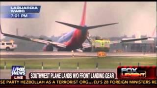 Breaking: Southwest Airlines plane makes rough landing at LaGuardia airport