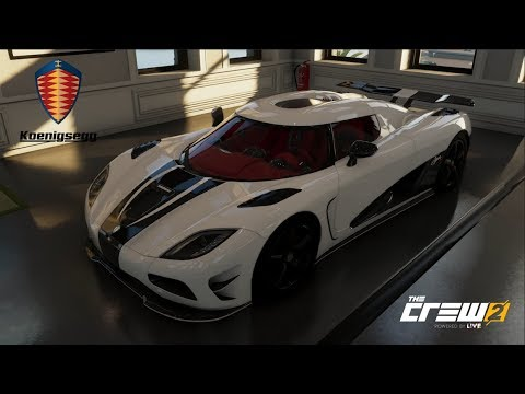 The Crew 2 - KOENIGSEGG AGERA R - Customization, Top Speed Run, Review