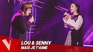 Grand Corps Malade & Camille Lellouche - 'Mais je t'aime' ● Lou B & Senny | The Voice Belgique S9