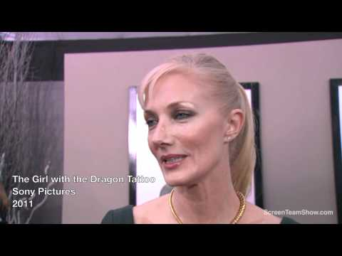 Joely Richardson Interview - The Girl with the Dragon Tattoo