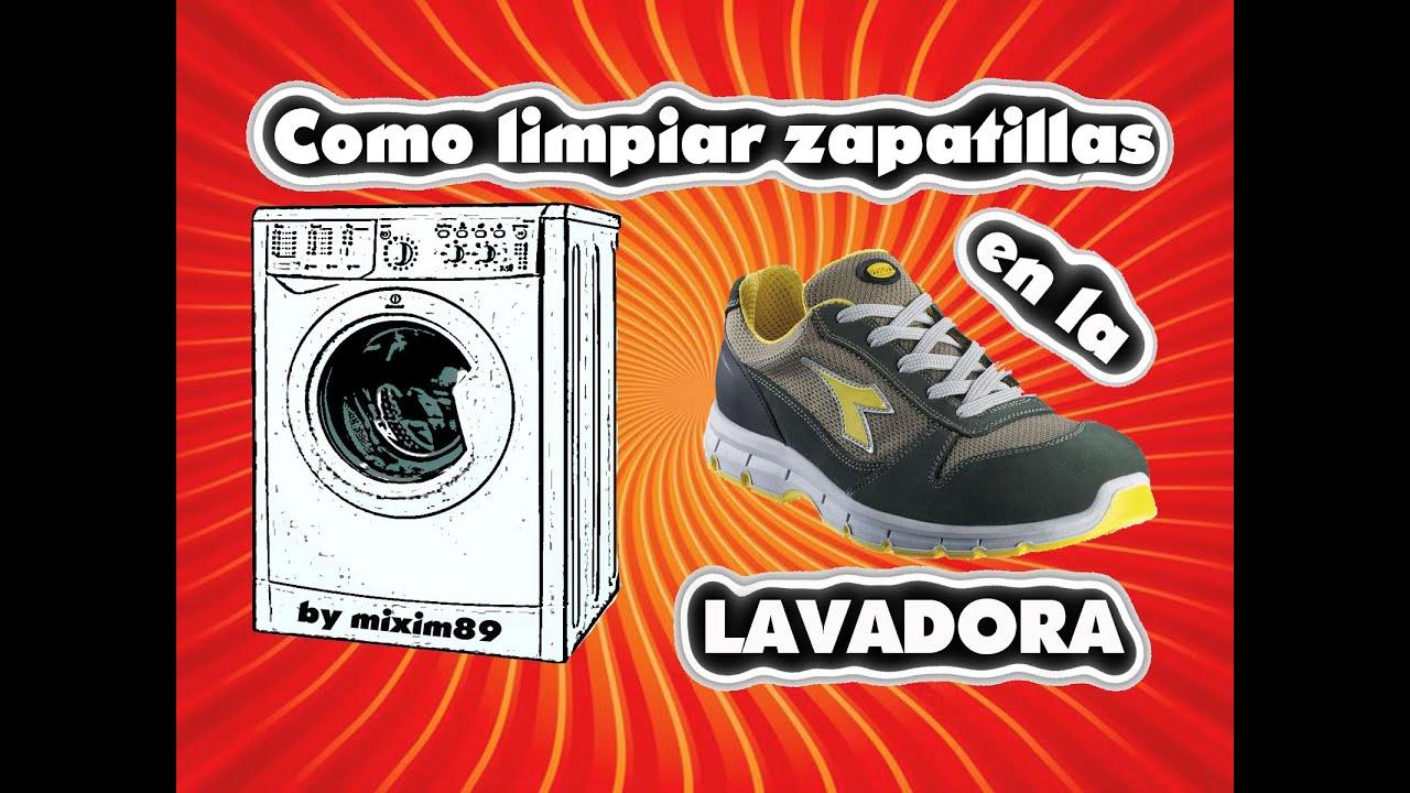 c8f10de2be4 Como limpiar zapatillas en la lavadora by mixim89 - YouTube