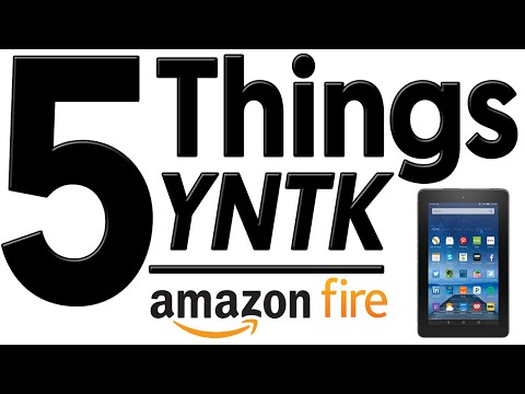 Amazon Fire: The World's Cheapest Tablet  5 Things You Need to Know