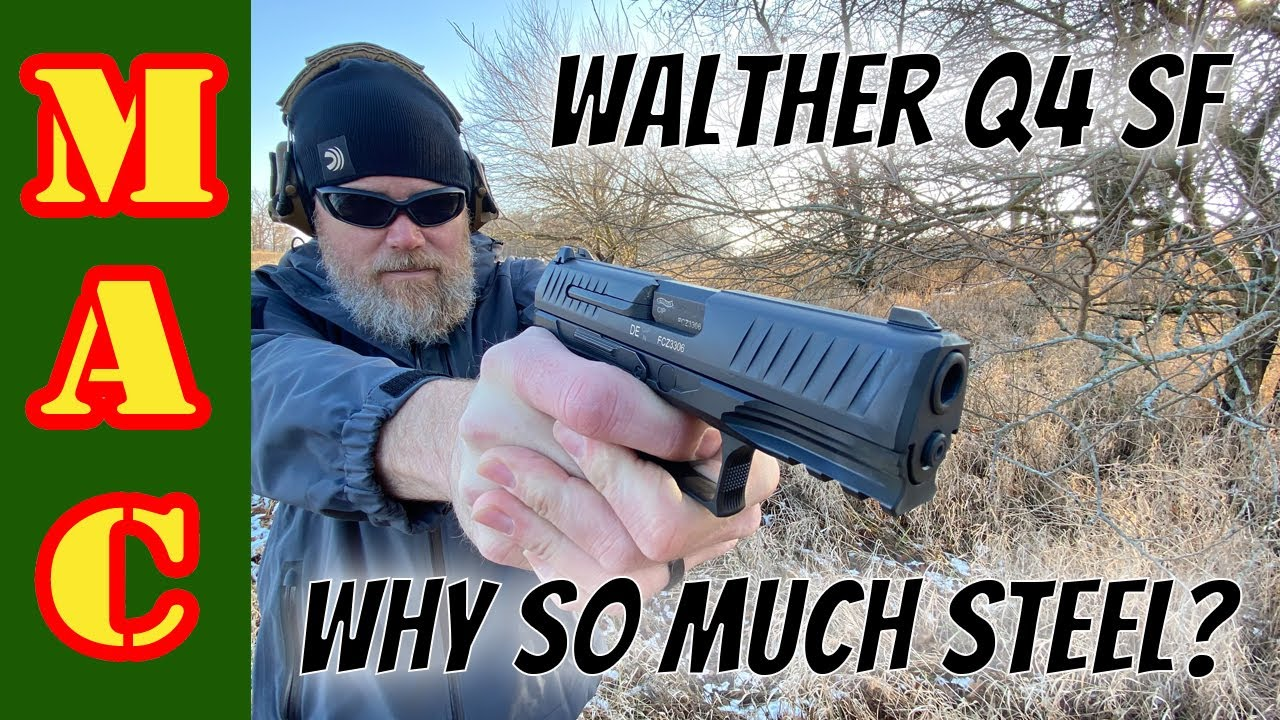 Walther steel frame Q4 SF: An improvement or an awkward feature?
