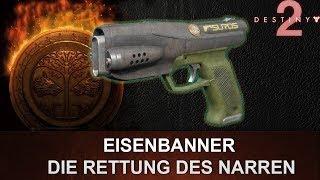 """Destiny 2: Eisenbanner Pistole Review """"Die Rettung des Narren"""" (Deutsch/German)"""