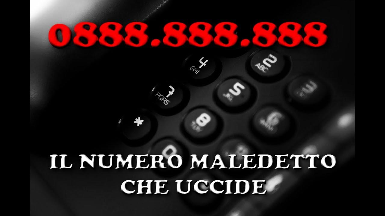 Il numero telefonico maledetto chi lo possiede muore youtube - Numero di telefono piscina ortacesus ...