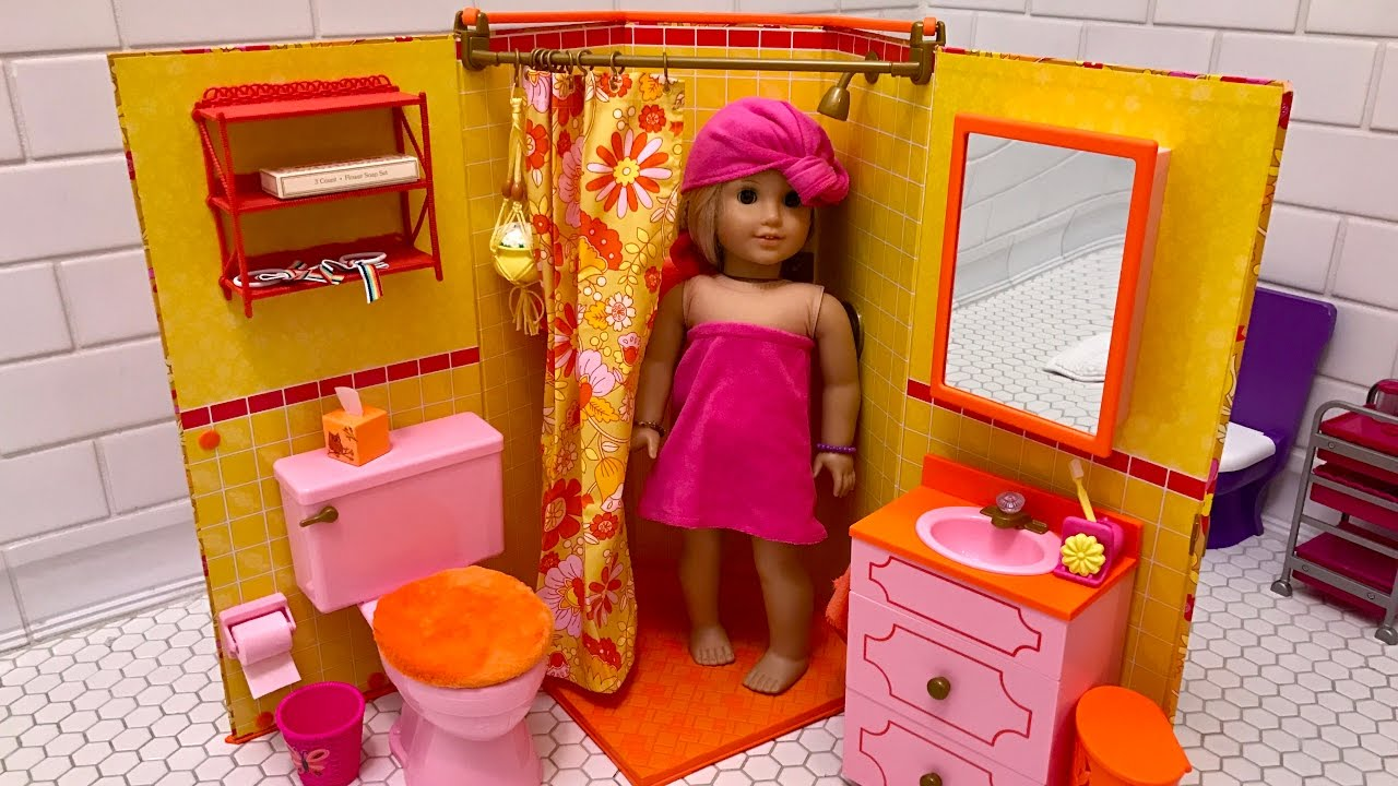 American Doll Julie S Bathroom Unboxing New