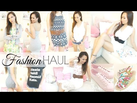 Spring Fashion Haul (Try On Haul) ♡ Amberallure