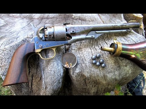Loading The 1860 Army Revolver