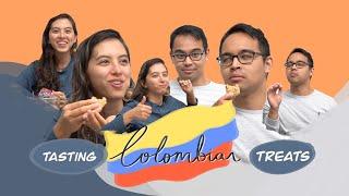 Colombian Treat Taste Test - BOROJO JUICE AT THE END!