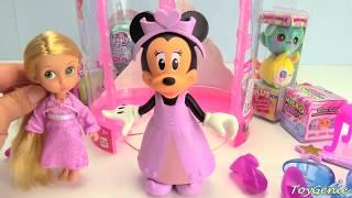 Minnie Mouse Like a Princess Cinderella and Rapunzel