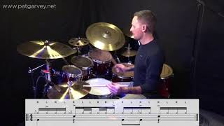 One Minute Lesson 6: Groove & Rudiments: The Flamacue, The 5 Stroke Roll & The Flam