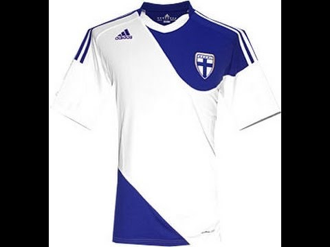 Finland National Football Shirt/Jersey By Adidas