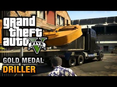 GTA 5 - Mission #77 - Driller [100% Gold Medal Walkthrough]