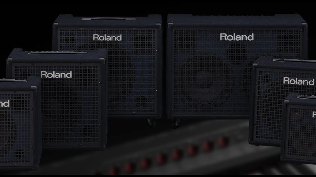 rolands new kc series of keyboard amps full 2017 review youtube. Black Bedroom Furniture Sets. Home Design Ideas
