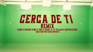 "BACKSTAGE "" CERCA DE TI REMIX """