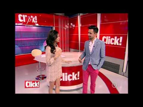 I-a ridicat fusta in direct la emisiunea Click! la Prima TV: Emisiunea din 03,04,2014