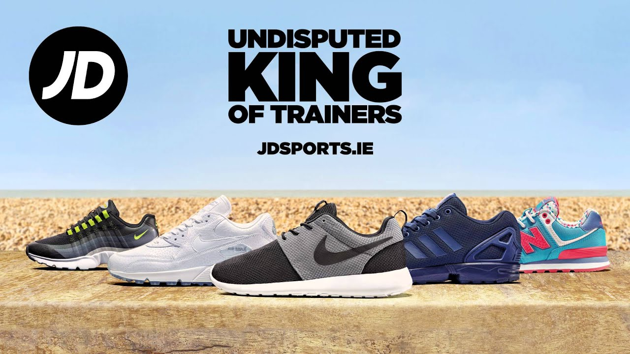 43104dda4a JD Sports Ireland - Undisputed King of Trainers - YouTube