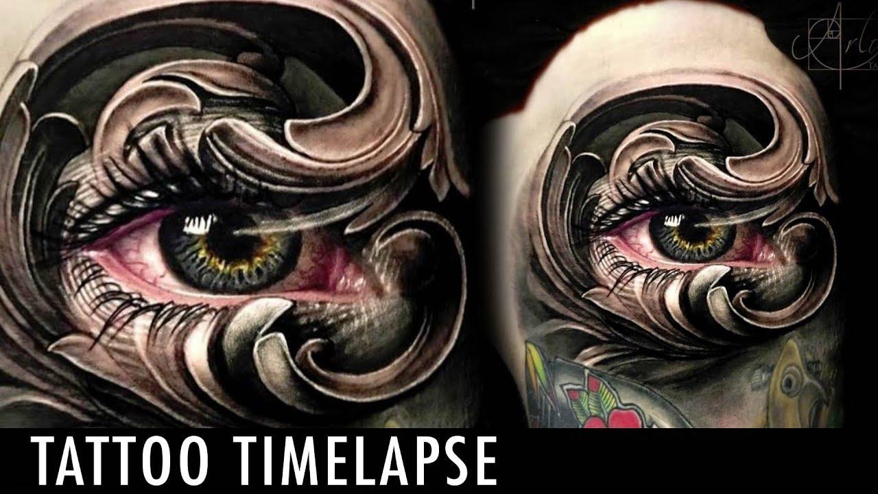 Arlo Di Cristina Arm Tattoo: Tattoo Timelapse