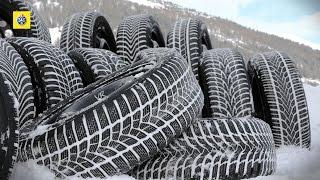 TCS test de pneus d'hiver 2015