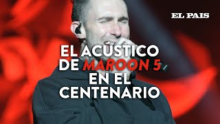 Maroon 5 - Won't Go Home Without You | Acústico en Montevideo, Uruguay | EL PAÍS