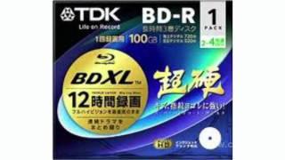 Новый формат оптической записи - формат BDXL