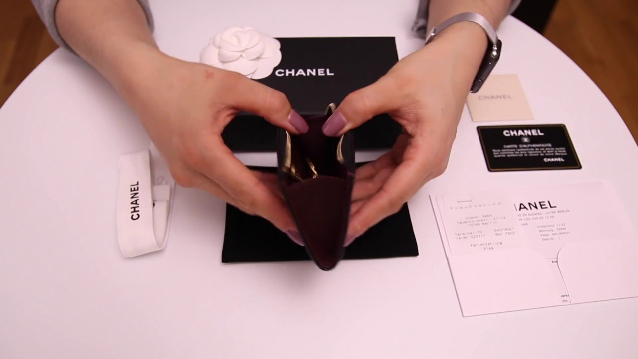 chanel key pouch. chanel key holder in black caviar leather and gold hardware review pouch