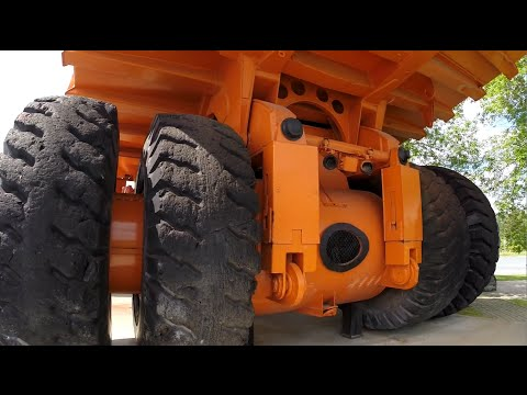1970's 200 Ton Lectra Haul (Unit Rig) Electric Drive Mining Dump Truck