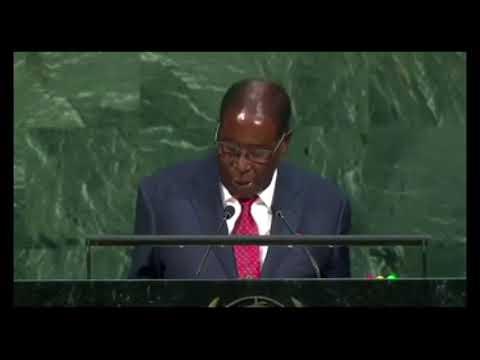 Allocution de Robert Mugabe à la 72e assemblée générale de l'ONU