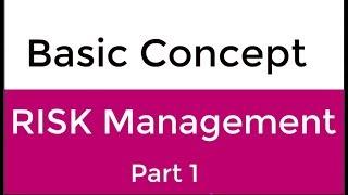 Basic Concept of RISK Management | What is Risk Management in Urdu & Hindi Part 1