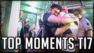 TOP Moments TI7 Dota 2 EPIC Plays and Atmosphere TI7 Highlights The International 7 #ti7 #dota2