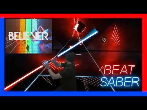 Beat Saber - Believer - Darth Maul style - Believe the power of the dark side! First try!