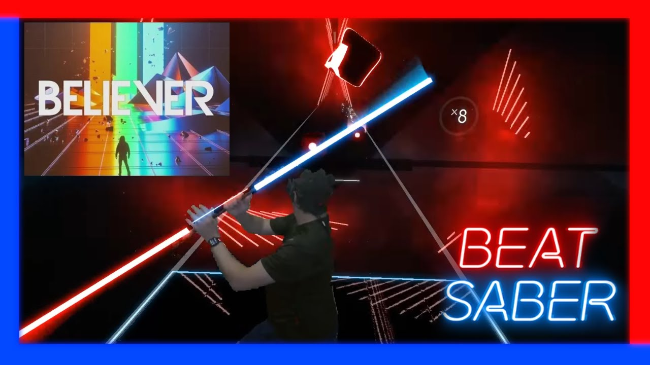 Beat Saber - Believer - Expert - Darth Maul style ...
