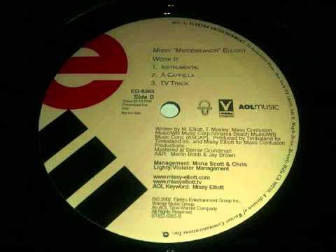 Missy Elliott - Work It (Acapella)