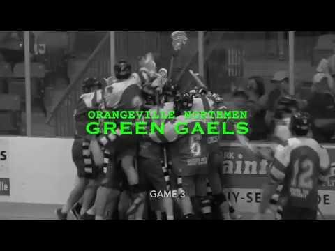 Green Gaels vs Orangeville Northmen Game 3